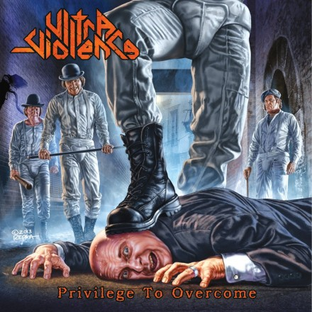 "Ultra-Violence ""Privilege To Overcome"" CD artwork"