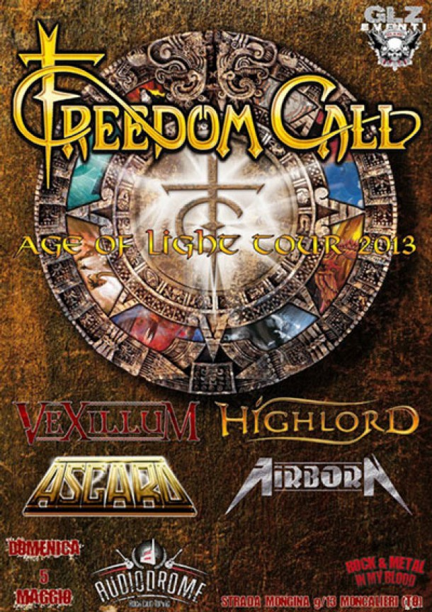 Highlord support Freedom Call