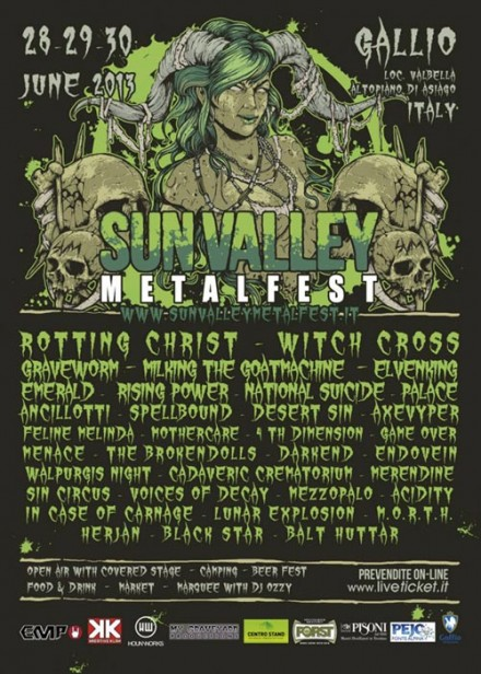 Cadaveric Crematorium Live At Sunvalley Metalfest