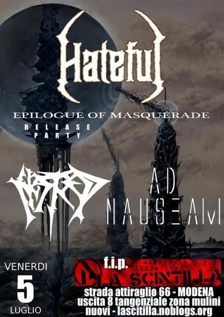 "Hateful: Live ""Epilogue of Masquerade"" Release Party"