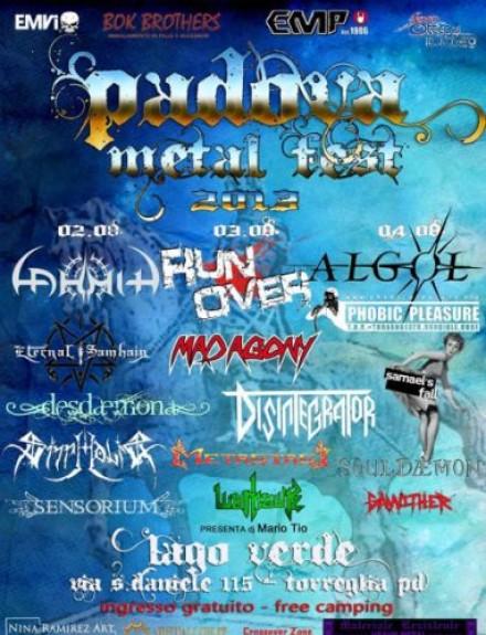 Algol Live at Padova Metal Fest