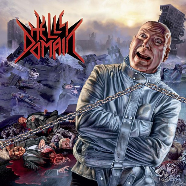 Hell's Domain: Ed Repka cover album revealed!
