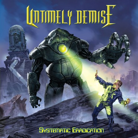 Untimely Demise: Cover album by Ed Repka revealed