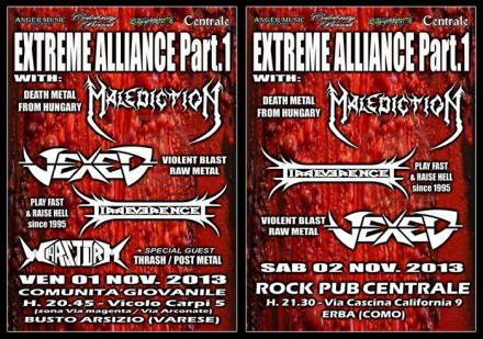 "Vexed Live at ""EXTREME ALLIANCE"" – Part I"