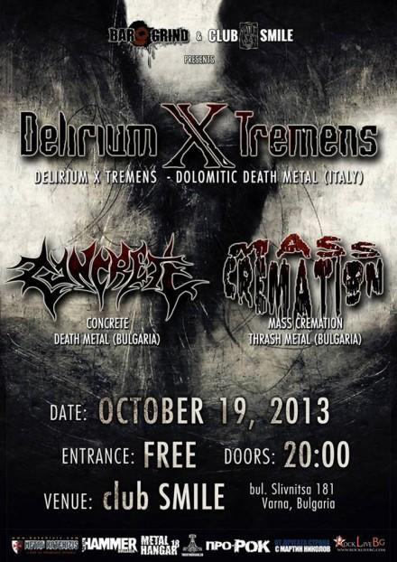 Delirium X Tremens Live!