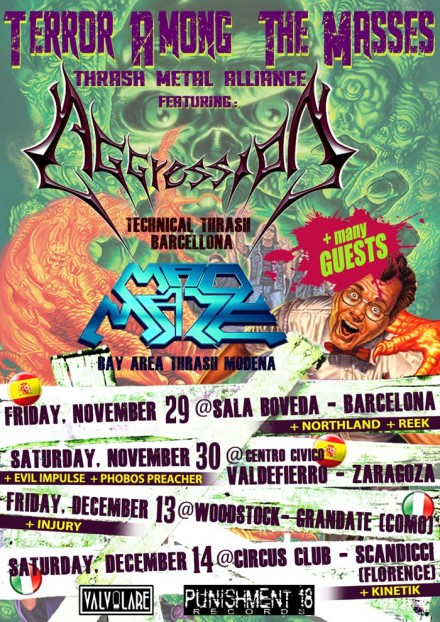 Madmaze: To Tour Europe With Aggression