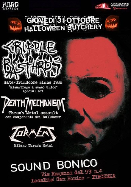 Torment Live with Cripple Bastards and Death Mechanism