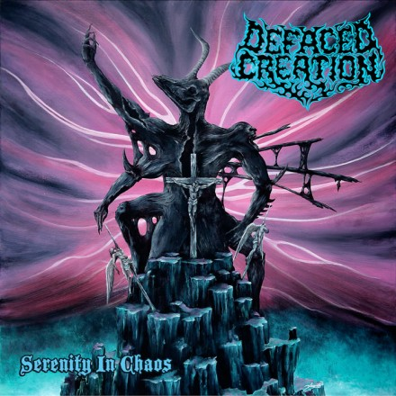 Defaced Creation: 'Serenity in Chaos' reissued with new artwork