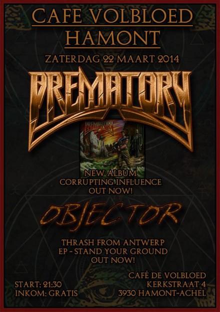 Prematory Live!