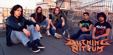 Burning Nitrum: new band under Punishment 18 Records