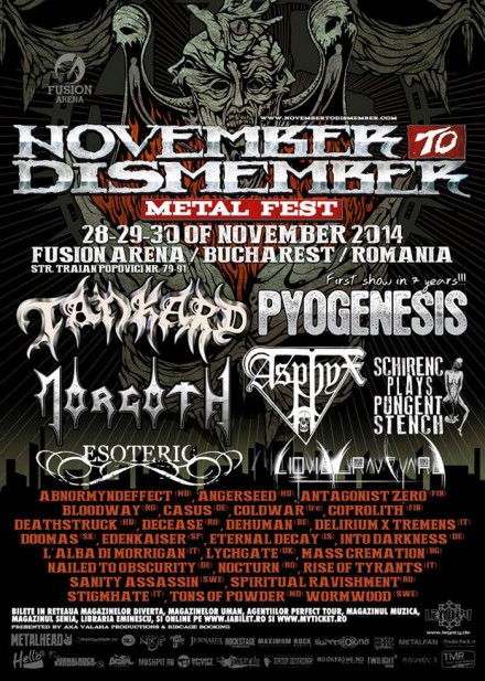 Delirium X Tremens: confirmed for November to Dismember 2014