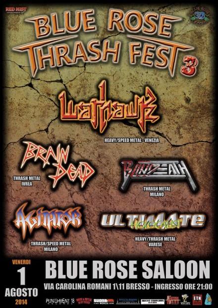 "Brain Dead: live at ""Blue Rose Thrash Fest 3″"