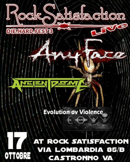 Ancient Dome Live at 'Rock Satisfaction Die.Hard.Fest3′