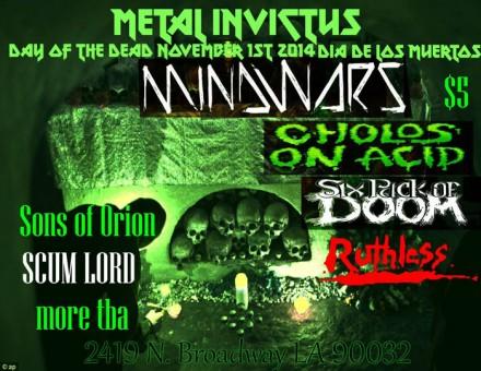 Mindwars Live at 'Metal Invictus'