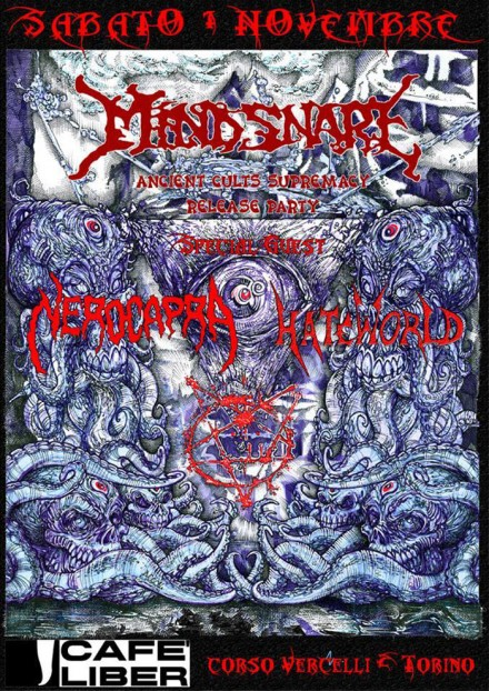 """Mind Snare: """"Ancient Cults Supremacy"""" Release Party Live!"""