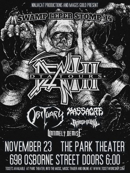 "Untimely Demise: Live at ""Swamp Leper Stomp '14″"