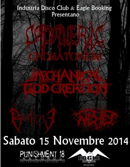 "Cadaveric Crematorium: Live at ""Death Metal Night"""
