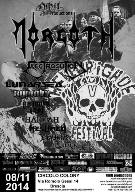 "Lunarsea: Live at ""Hellbrigade Festival V"" with Morgoth!"