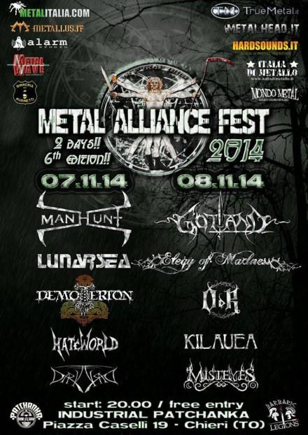 "Lunarsea: Live at ""Metal Alliance Fest 2014″"