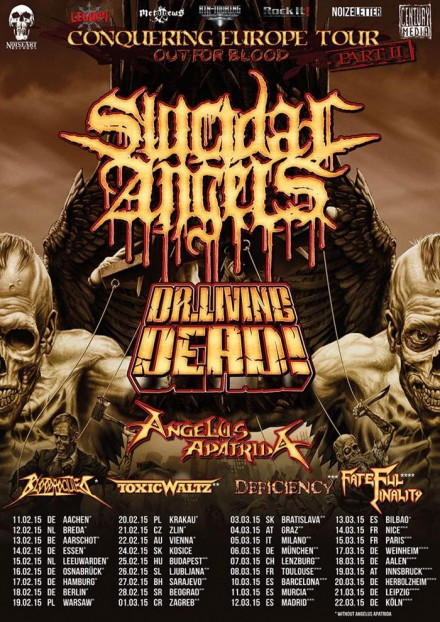 Bloodrocuted: European tour dates!