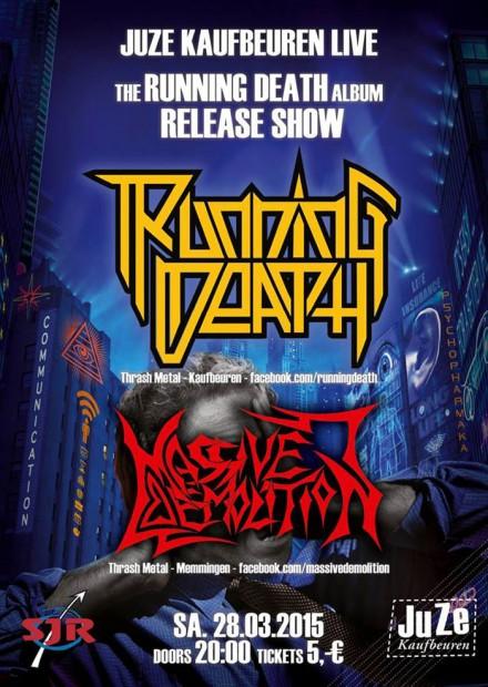 Running Death: Album Release Show Live!