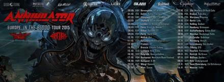 Harlott: coming to Europe supporting Annihilator