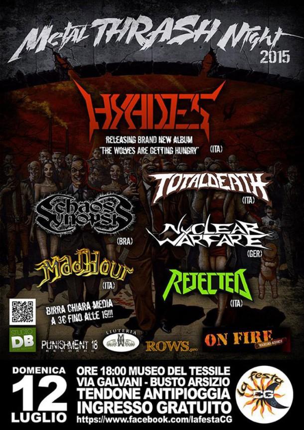 "Hyades: Live at ""Metal Thrash Night 2015″"