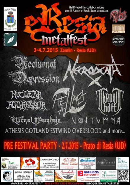 "Nuclear Aggressor: Live at ""EResia Metalfest 2015″"