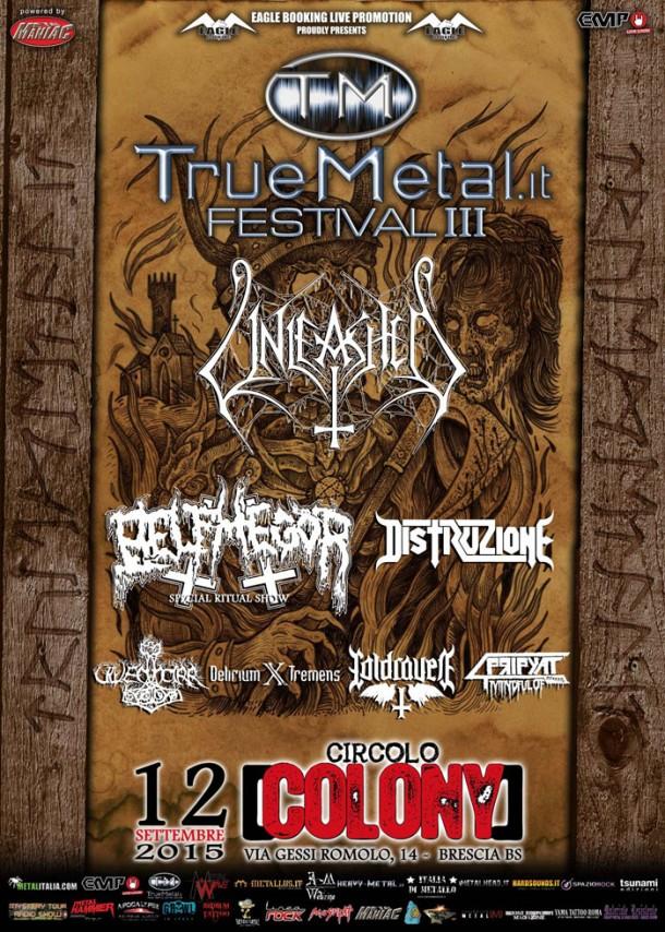 "Delirium X Tremens: Live at ""Truemetal.it Festival"""
