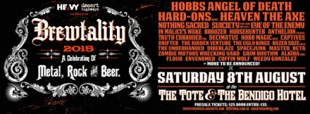 "In Malice's Wake: Live at ""Brewtality 2015 Festival"""