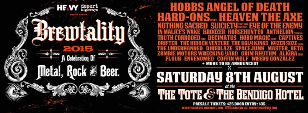 """In Malice's Wake: Live at """"Brewtality 2015 Festival"""""""