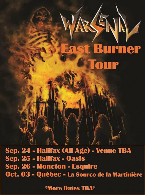 """Warsenal: """"East Burner Tour""""!"""