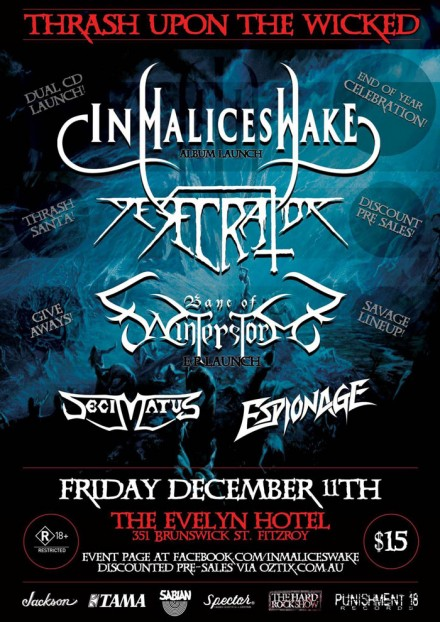 "In Malice's Wake: Live ""Thrash Upon The Wicked"""