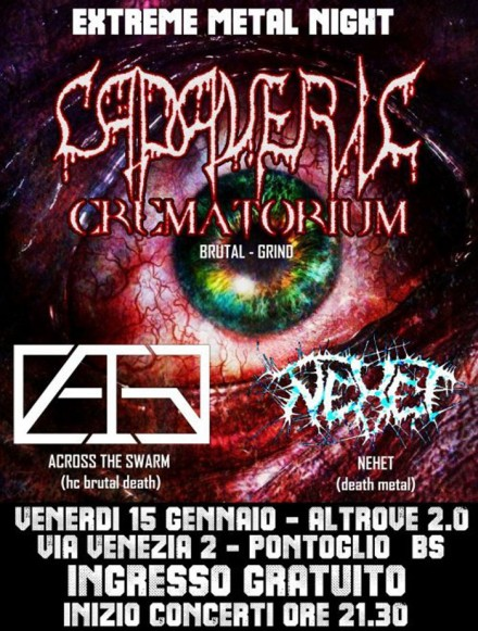 "Cadaveric Crematorium: Live at ""Extreme Metal Night"""