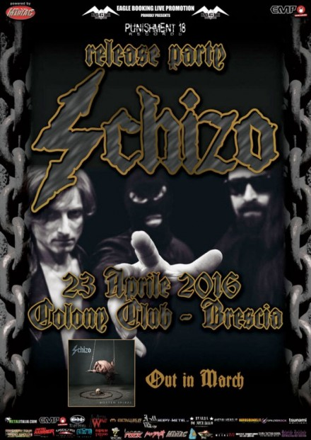 "Schizo ""Rotten Spiral"" release party"