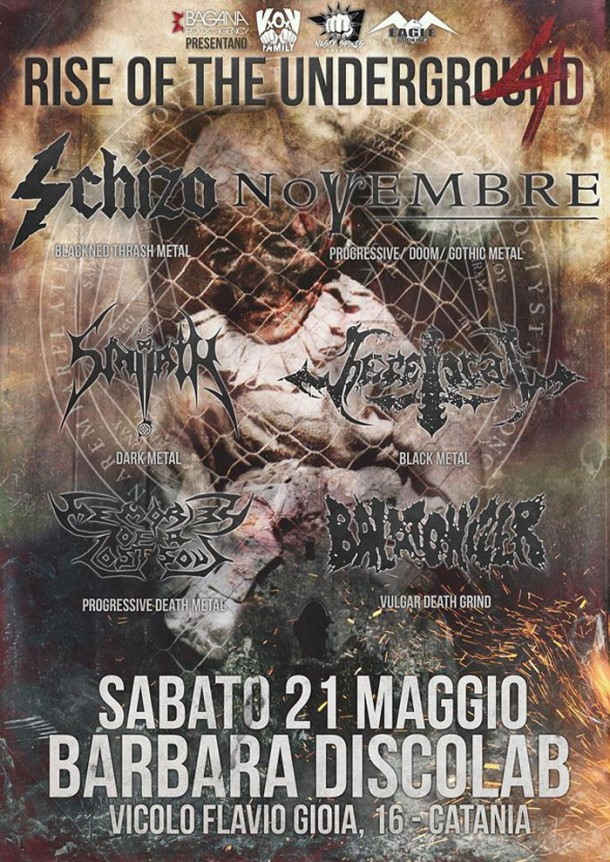 "Schizo: Live at ""RISE OF THE UNDERGROUND 4″"
