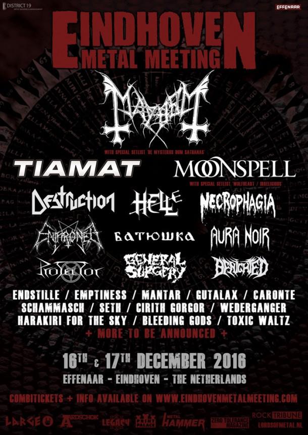 Bleeding Gods: will perform on Eindhoven Metal Meeting 2016