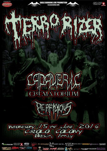 Cadaveric Crematorium Live with Terrorizer!