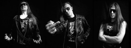 Raging Death: split with Igor, band became a trio!
