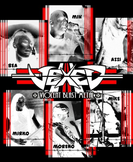 Vexed: title of their new album unveiled