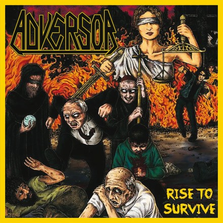 "Adversor: cover artwork for ""Rise To Survive"" revealed"
