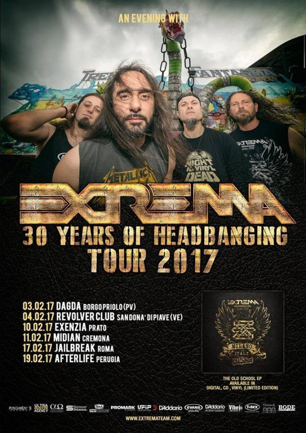 Extrema: 30 Years Of Headbanding Tour