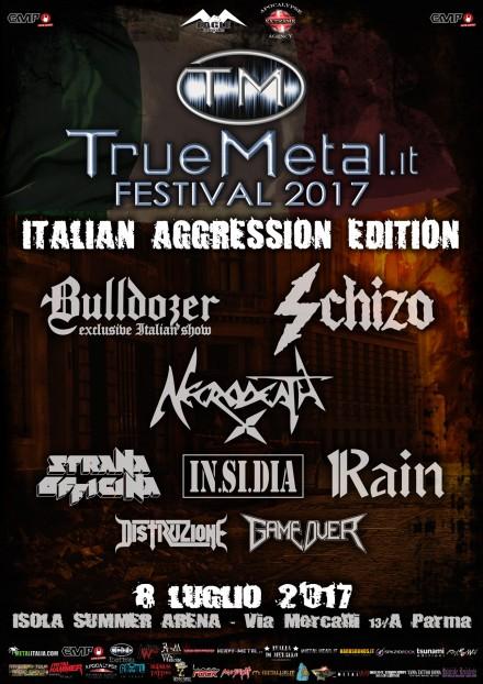 TRUEMETAL.it FESTIVAL 2017: la nuova versione open air a Luglio