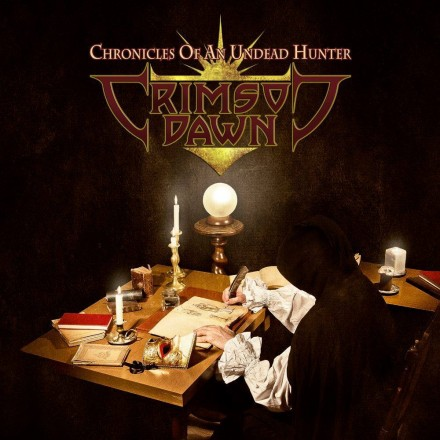 "Crimson Dawn: ""Chronicles Of An Undead Hunter"" cover album unveiled"