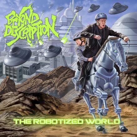 "Beyond Description: Ed Repka for the ""The Robotized World"" album cover"