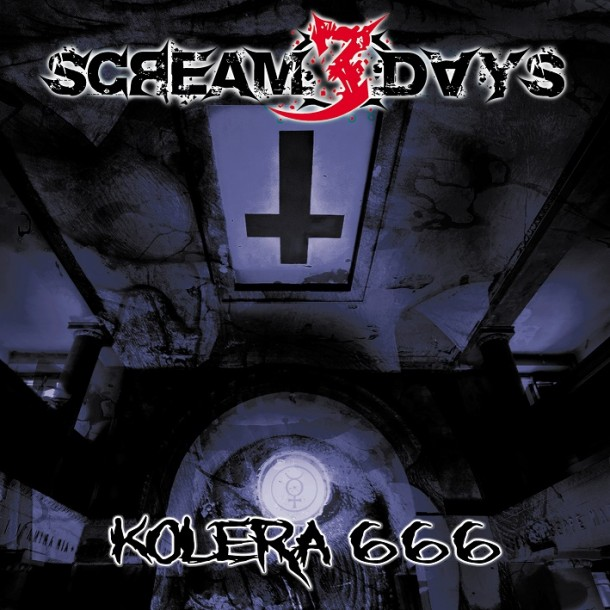 Scream 3 Days: new album cover art and video from the recording studio