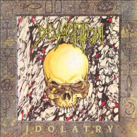 """Devastation: extremely rare """"Idolatry"""" and """"Signs of Life"""" albums reissued by Punishment 18 Records!"""