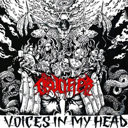 "The Crucifier: ""Voices in my Head"" cover art unveiled"