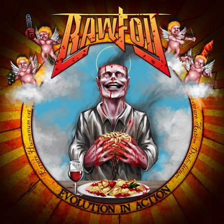 "Rawfoil: new details of ""Evolution in Action"" forthcoming album"