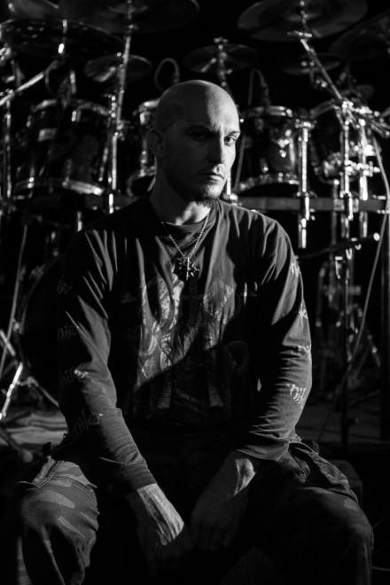 "Azrath-11: drummer Jonathan "" A.D.D"" Garofoli performing ""Symbolic"" from Death"